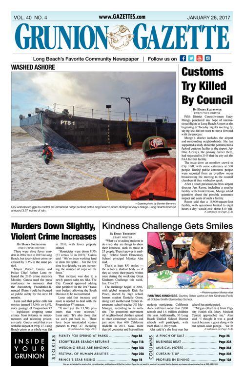 Grunion Gazette     January 26, 2017