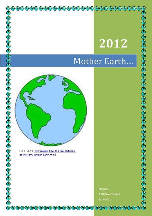 Mother Earth ERT