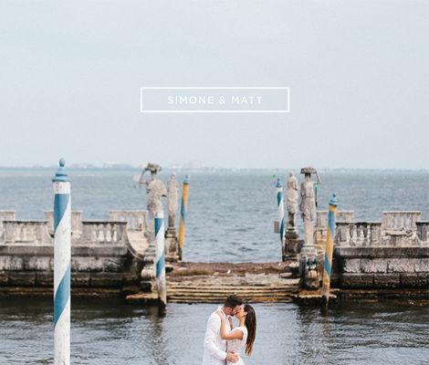 Simone & Matt - Engagement Book