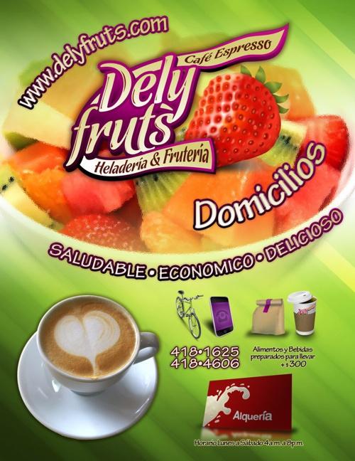Delyfruts • Menú Completo