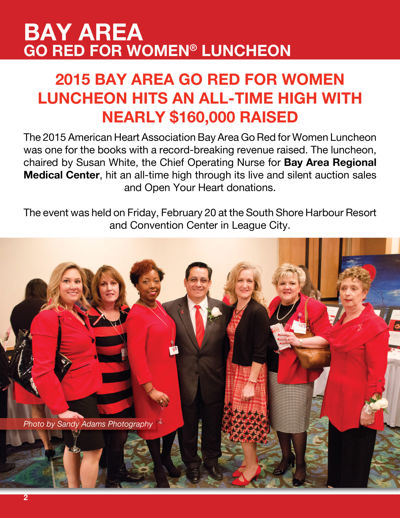 Bay Area Go Red For Women
