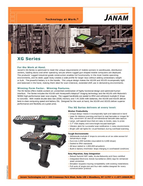 NRF2011 print material
