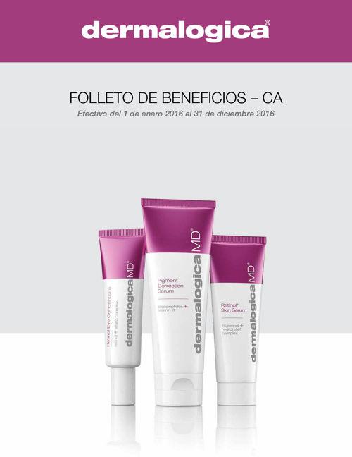 dermalogica brochure CA full-time Spanish