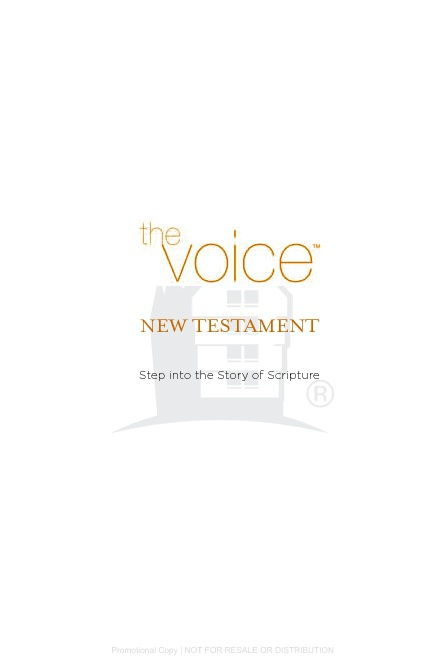 You Bible The Voice