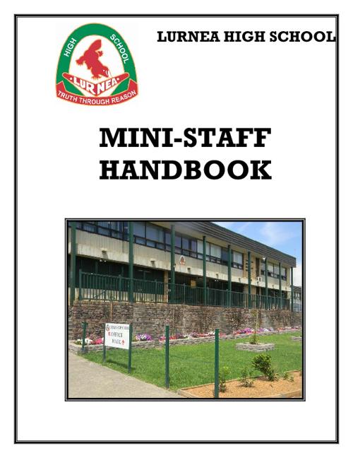 Mini Staff Handbook