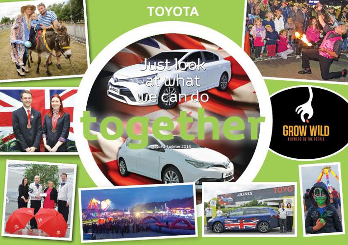 Toyota Motor Manufacturing (UK) Ltd Together Magazine