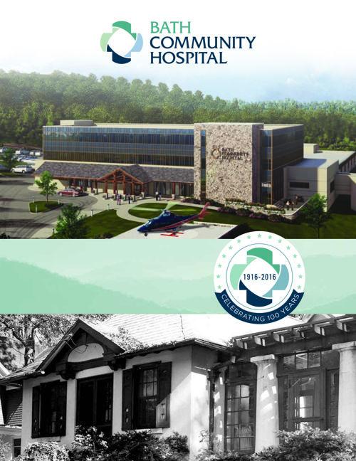 2016 Centennial Booklet - Bath Community Hospital