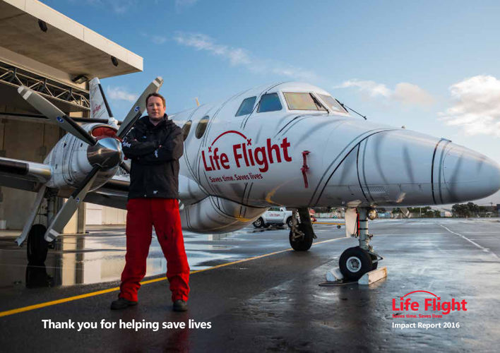 Life Flight 2016 Impact Report