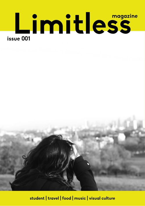 Limitless Magazine issue 001