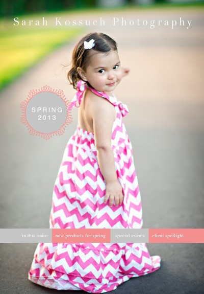 Sarah Kossuch Photography // Spring Newsletter