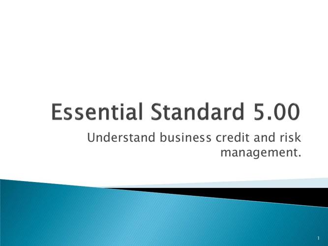 Risk Management Module 16
