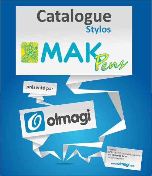 Olmagi - Catalogue Mak Pens 2014