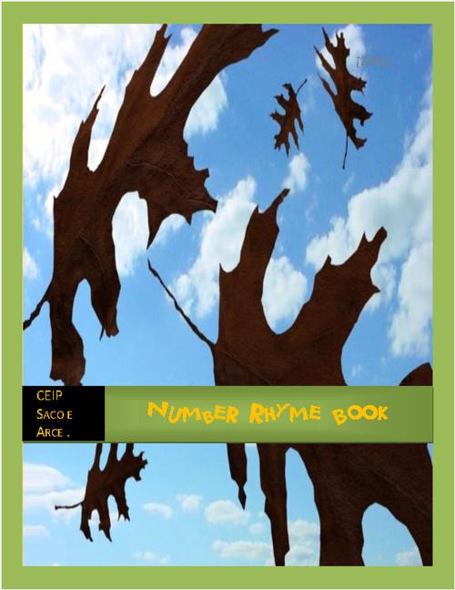 Number Rhyme Booklet