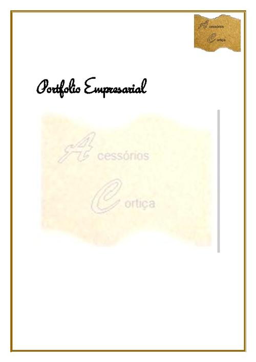 Empresa AC-Acessórios de Cortiça