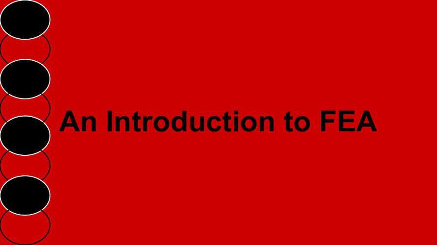 FEA Information Book