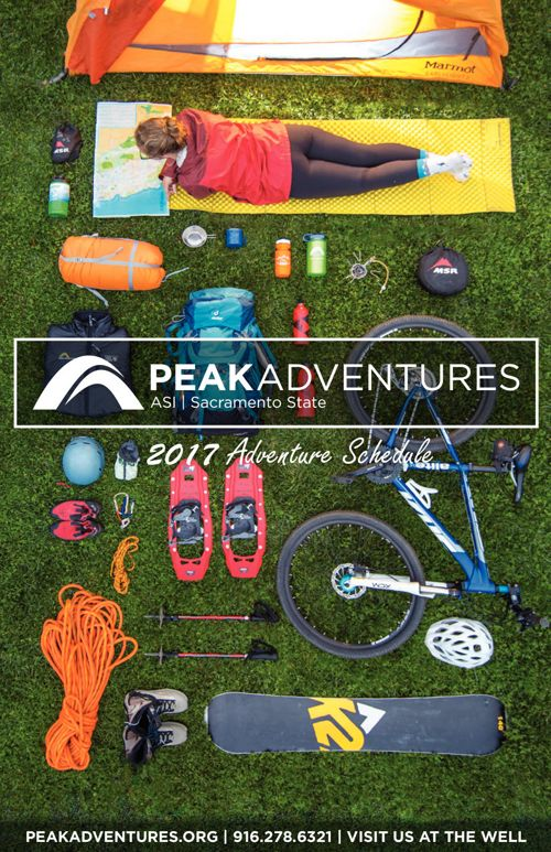 Peak Adventures 2017 Brochure