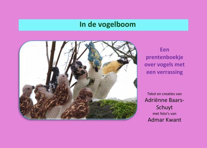In de vogelboom; prentenboekje met haakfiguren