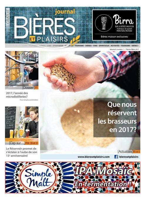 Bières et Plaisirs - Février 2017