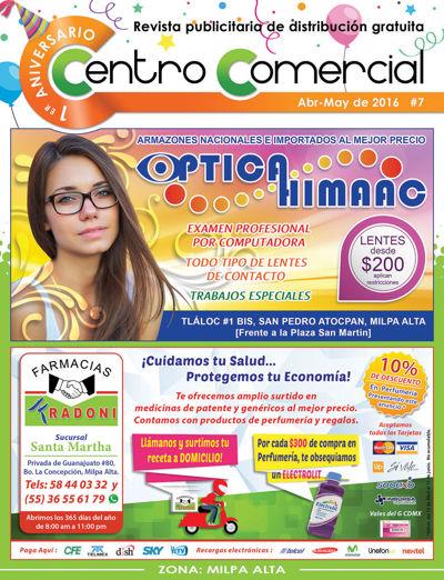 Revista Centro Comercial #7 Abr-May de 2016