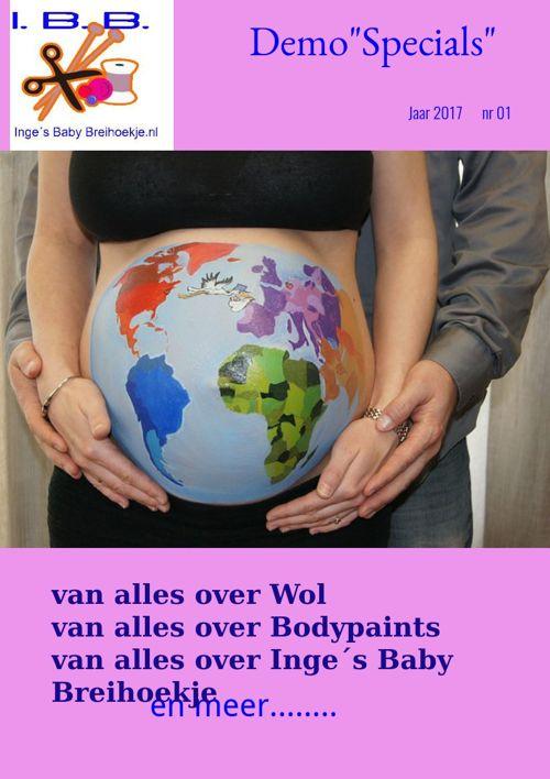 """Info magazine 1 """"Specials"""" van Inge's baby breihoekje"""