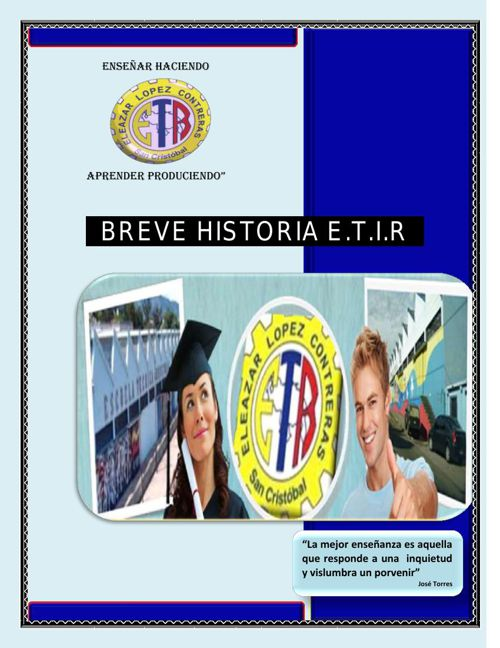HISTORIA ETIR