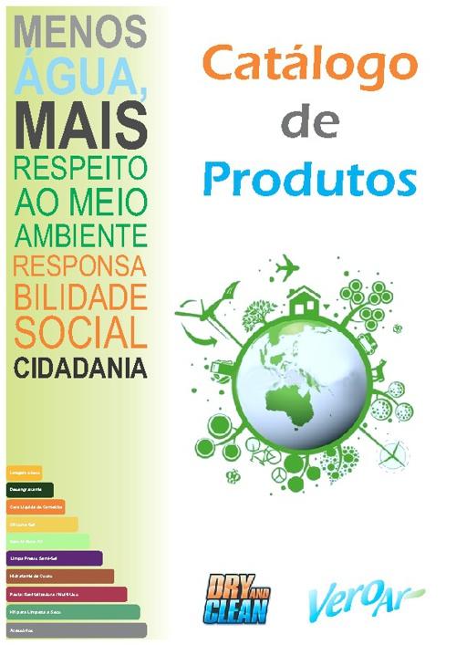 Catálogo de Produtos - Dry and Clean