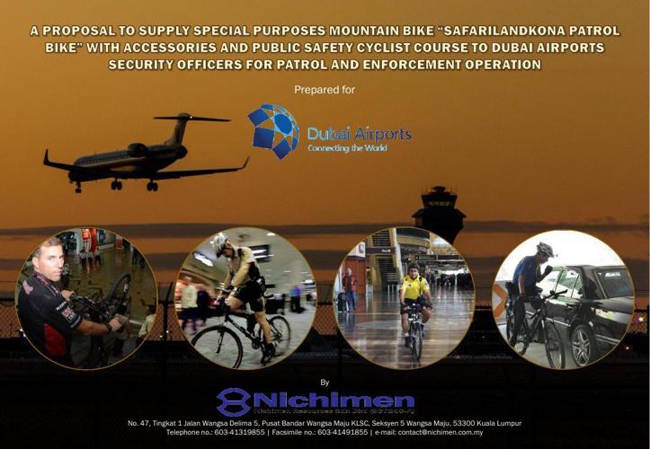 security on bike dubai airport flash book