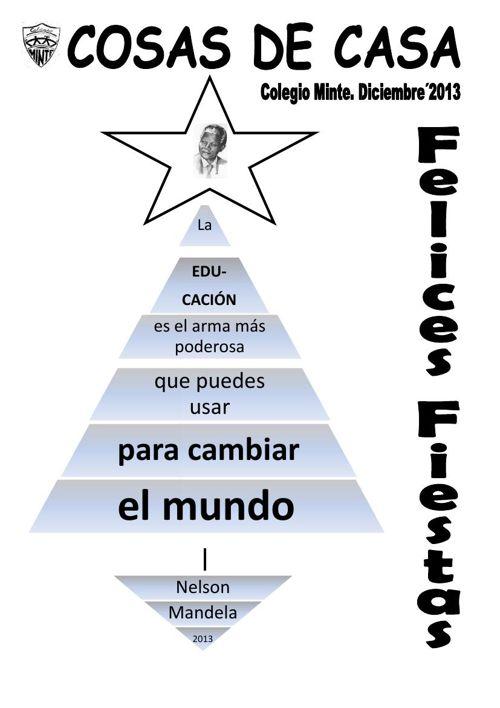 2013-2014 CURSO REVISTA DE NAVIDAD COLEGIO MINTE