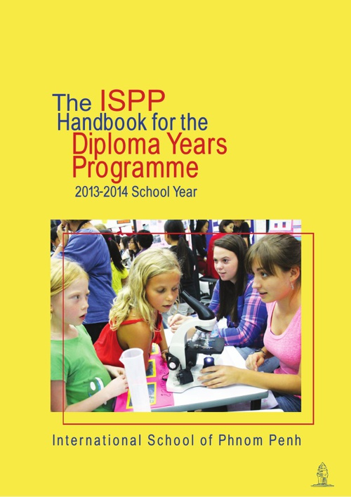 The ISPP Guide to the Diploma Years Programme 2013-2014