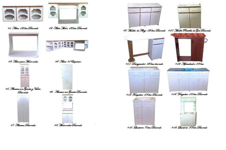 Muebles economicos melamina y madera