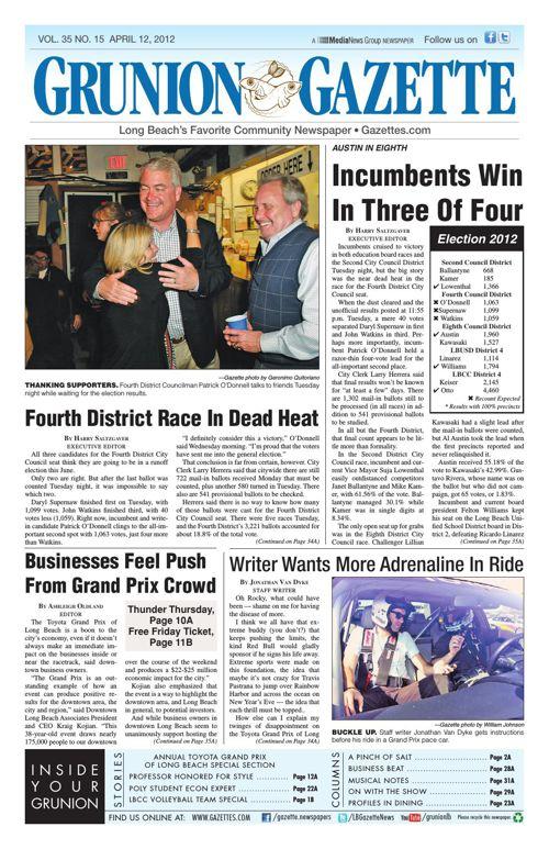 Grunion Gazette | April 12, 2012