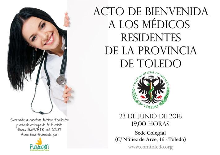programa Acto Bienvenida Residentes2016