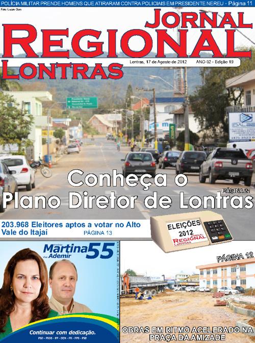 Jornal Regional Lontras 19ª Edição