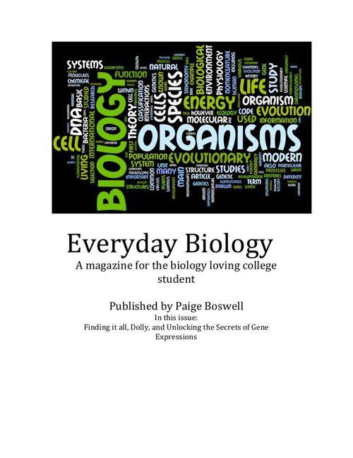 biology magazine