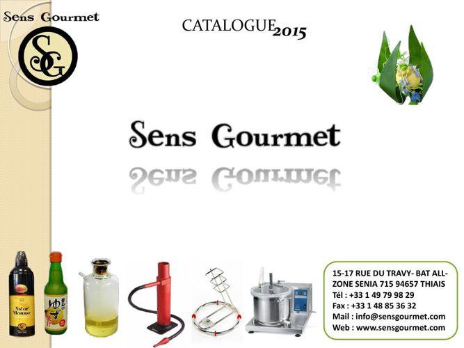 SensGourmetCatalogue2015