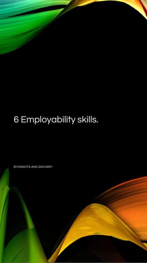 Employility skills