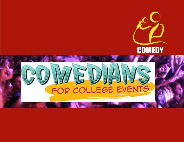 Comedians for College Events '12 Brochure