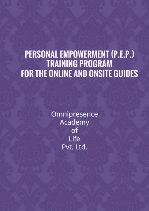 P.E.P. Guide's Training Program