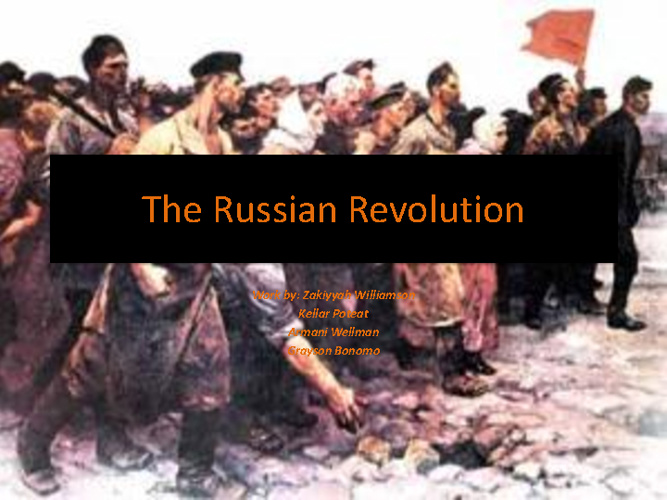 The Russian Revolution (HWH 3)