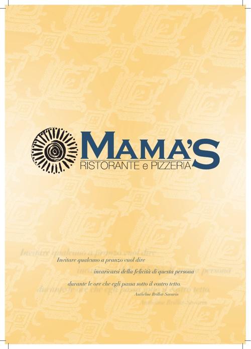Menù Mama's Ristorante Pizzeria