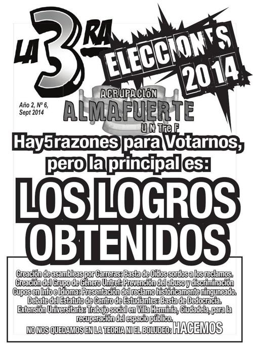 La tercera_6, Sptbre 2014.