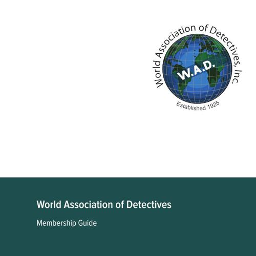 World Association of Detectives Membership Guide