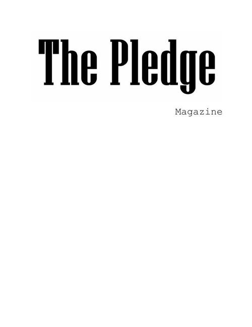 The Pledge magazine Logo
