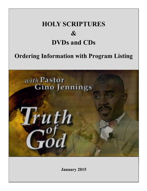 FC_Holy Scripture and Studio Ordering_Jan 2015