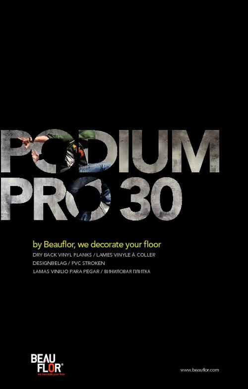 Podium Pro 30