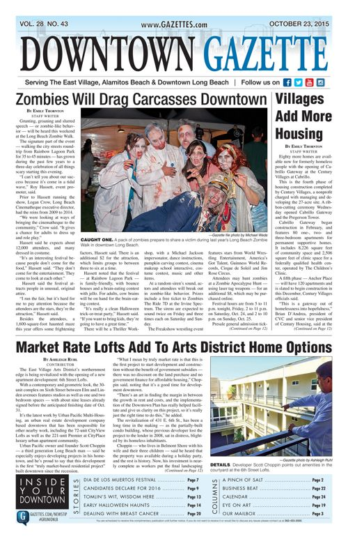 Downtown Gazette  |  October 23, 2015