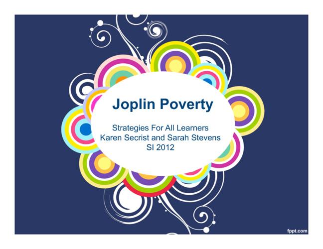 Joplin Poverty