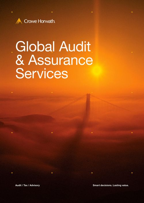 Crowe Horwath Jamaica Audit Service -Brochure