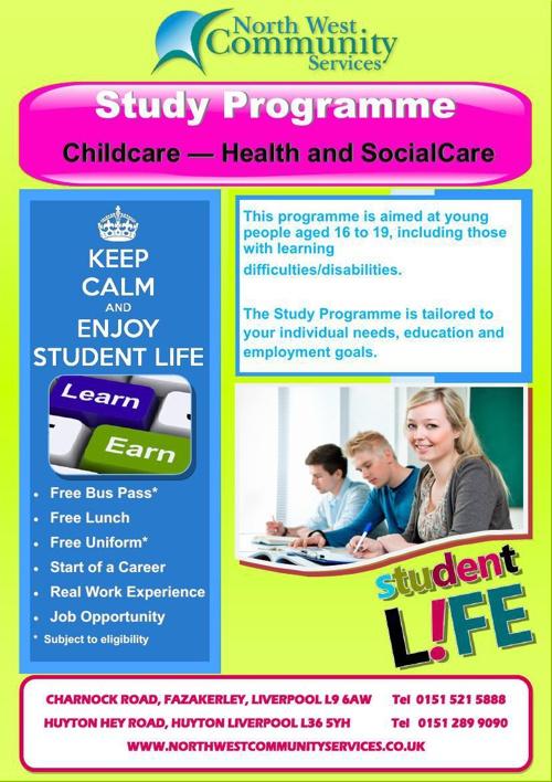 Study Programme learner leaflet Nov
