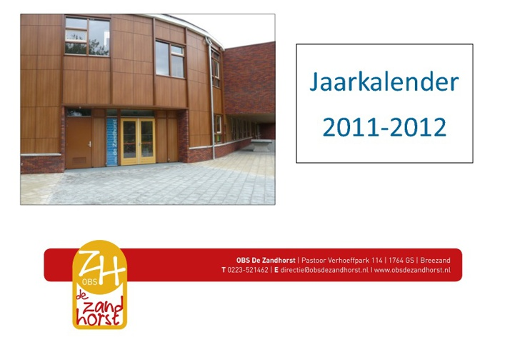 Kalender 2011-2012